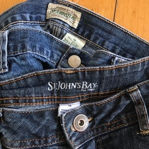 St. John's Bay Shorts - 2 pair St Johns Bay Denim Shorts Size 14
